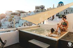 Aspaki Hotel in Oia Santorini
