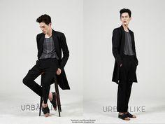 Korea Model모델 /Idol아이돌: 金元中 URBANLIKE / B Side