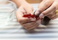 Easy way to clean amber jewellery