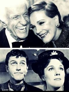 Julie Andrews and Dick van Dyke. This makes me so happy.