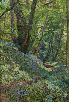 Mid Spring, John William Inchbold. English (1830 - 1888)