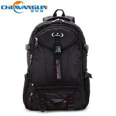Find More Backpacks Information about 915 NEW fashion hot leisure large capacity Travel bag Pure color nylon men's backpack sport  Mountaineering Camping bag,High Quality bag hand bag,China bag big Suppliers, Cheap bag cartoon from 3aaa store on Aliexpress.com