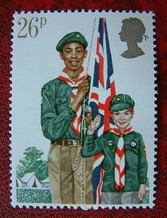 SG1181 Boy Scouts 26p - 1982 - GB Postage Stamp Mint MNH | eBay