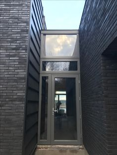 Black brick with charcoal mortar - private residence