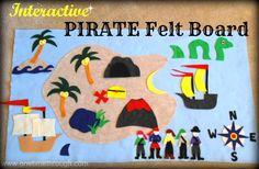 Pirate Felt Board