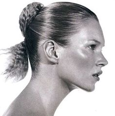 #FlashbackFriday #90s #KateMoss #Photography @stevenkleinstudio #HairByGuido for @redken5thave