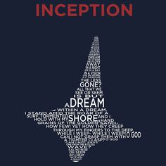 Inception - A Peom Within a Totem Within a Shirt by bearwithscissor Inception Quotes, Movies To Watch, Good Movies, Filmmaking Quotes, Leonardo Dicaprio Movies, Nolan Film, Illustrated Words, Movie Tattoos, Fritz Lang