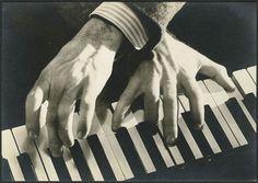 George Gershwin's hands...