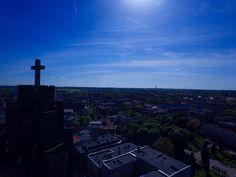 Zdjęcia z drona: Parafia pw. Wszystkich Świętych. Gliwice (Galeria)