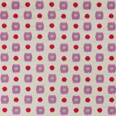 Small pattern silk fabric for French designer Manuel Canovas Rose Fuchsia, Lilac, Pink, Buy Fabric, Silk Fabric, Serenity Color, Purple Rooms, Purple Fabric, Red Design