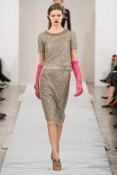 Oscar de la Renta Fall 2013 RTW - Review - Fashion Week - Runway, Fashion Shows and Collections - Vogue - Vogue