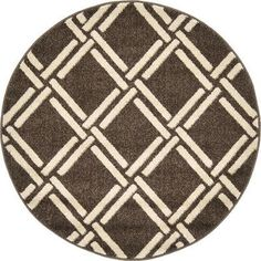 Bay Isle Home Seagate Brown Area Rug Rug Size: 3' 3 x 3' 3