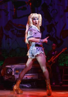 Darren Criss in Hedwig and The Angry Inch on Broadway. JUST GOT MY TICKET