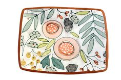 Illustration __________________________________________________________________________________________ This piece features a hand drawn and painted floral illustrations over a worn background. Pottery Painting Designs, Paint Designs, Ceramic Plates, Ceramic Pottery, Ceramic Painting, Ceramic Art, Crackpot Café, Ceramic Glaze Recipes, Mug Design