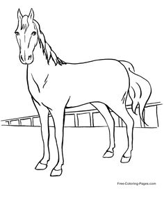 Printable Horse Coloring Page. Printable Horse Coloring Page. Coloring Pages Free Printable Horse Coloring for Kids Book Horse Coloring Pages, Free Coloring Sheets, Coloring Pages For Girls, Cartoon Coloring Pages, Mandala Coloring Pages, Coloring Pages To Print, Coloring For Kids, Colouring Pages, Coloring Books