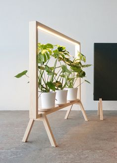 johan kauppi brings an illuminated frame for potted plants to the stockholm furniture . - johan kauppi launches an illuminated frame for potted plants at stockholm furniture … -