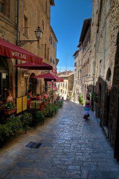 Volterra, Tuscany, Italy.