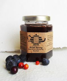 Pure Raw Honey TEA Organic Wild Berry with by @honeyteathyme
