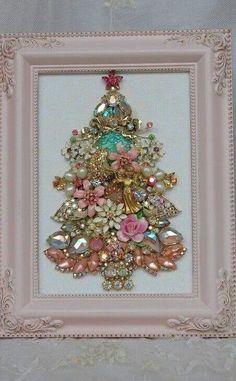 Beautiful Shabby Chic Jewelry Tree More