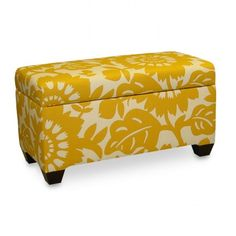 storage ottoman by pantone color story