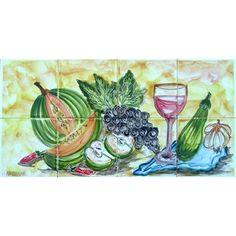 Arts Exotiques Kitchen Splashback 8-tile Wall Mural, Silver