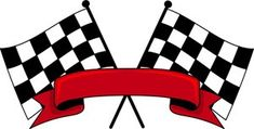 ❤Checkered flags
