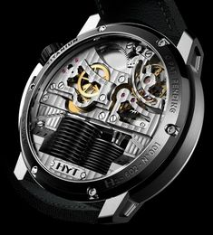 HYT H1 Hydro-Mechanical watch from Vincent Perriard & Co