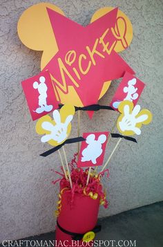 DIY Mickey Bouquet