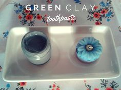 Chalk and Green Clay Toothpaste