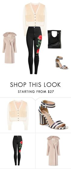 """""""Untitled #10877"""" by explorer-14576312872 ❤ liked on Polyvore featuring Chloé, Nanette Lepore, Diane Von Furstenberg and Alix"""