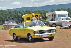 OG | 1967 Opel Commodore A Cabriolet | Only 4 prototypes were built by Karmann.