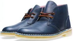 Clarks Originals x Herschel Supply Co. Desert Boot (Blue Combi)