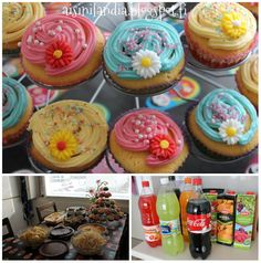 Cupcakes and food!