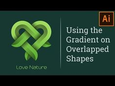 How to Design a Overlapping Gradient Logo in Illustrator Tutorial - YouTube