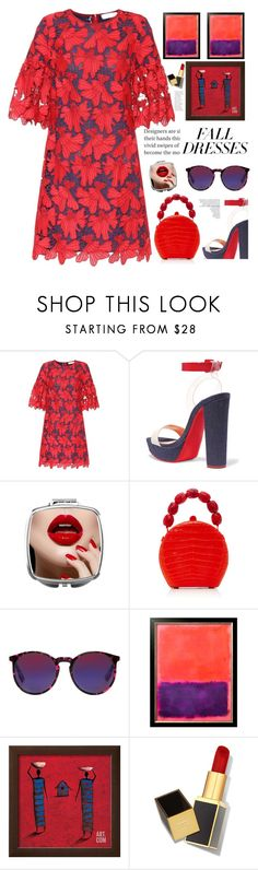 """FALL DRESS"" by licethfashion ❤ liked on Polyvore featuring Tory Burch, Christian Louboutin, Nancy Gonzalez, McQ by Alexander McQueen, Tom Ford, polyvoreeditorial and licethfashion"