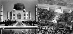 During world war 2, taj mahal was covered with bamboos to make it look as a pile. Yeah, that worked....