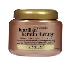 Organix Brazilian Keratin Therapy Hydrating Keratin Masque ($8; ulta.com)                                                                                                                                                                                 Mais