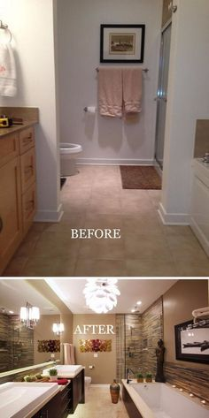 Bath Remodel Chicago Minimalist Remodelling Before And After Makeovers 23 Most Beautiful Bathroom Remodeling .