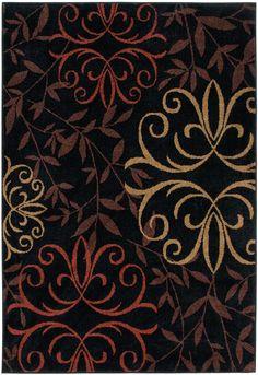 Four Seasons 1819 Josselin Black Rug