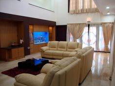 tropical living room design ideas, pictures, remodel and decor