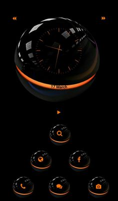 [Homepack Buzz] Check out this awesome homescreen! James Mullins Black n orange Green Wallpaper, Cool Wallpaper, Mobile Wallpaper, Xperia Wallpaper, Beautiful Names Of Allah, Apple Wallpaper Iphone, 3d Pictures, Android Smartphone, Homescreen