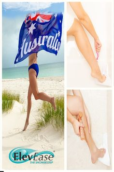 Finally, reduce the strain on your body when shaving your legs. Beauty rituals can be a pleasure o