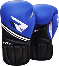 RDX Boxing Gloves Blue