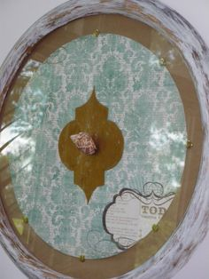 Layers of Love~ mixed media art | loving one another | up cycle circular frame to beautiful art piece | diy decor
