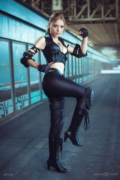 Sonya Blade, Mortal Kombat. Right attitude, right sass, and not too much skin