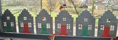 huisjes, met Sint al te maken lichtjes erbij en dan tot Kerst en misschien zelfs tot in de Winter te gebruiken.......