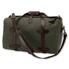 c7896dd567 Small Filson duffle bag for the gym and travel Army Clothes