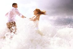 Trash the dress...wish I would have done this. I've seen great pictures from this fun idea!