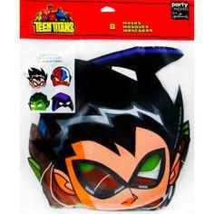 Teen Titans Paper Masks