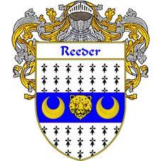 Reeder family crest